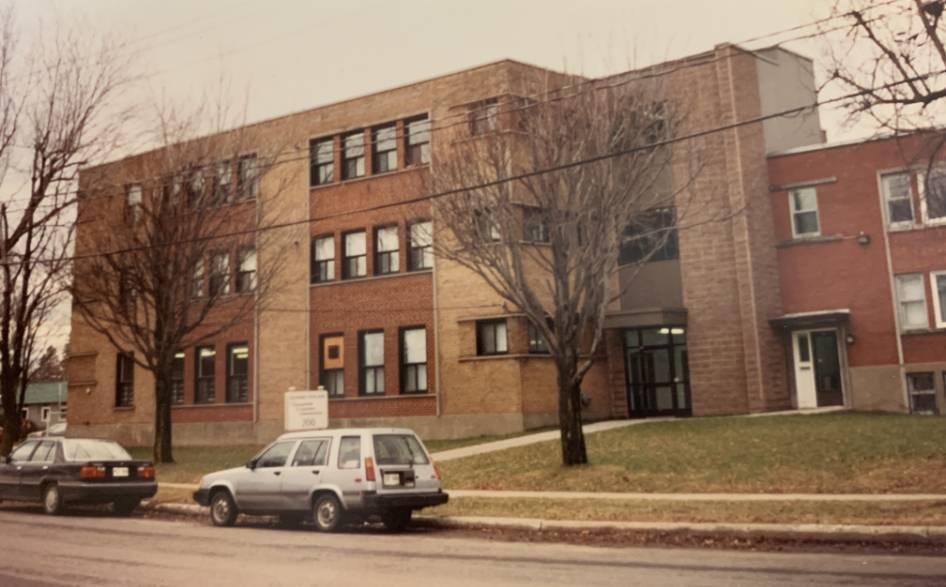 Bâtisse en 1990